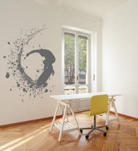 Modern new apartment room